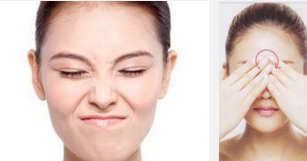 眉间纹是怎么形成的