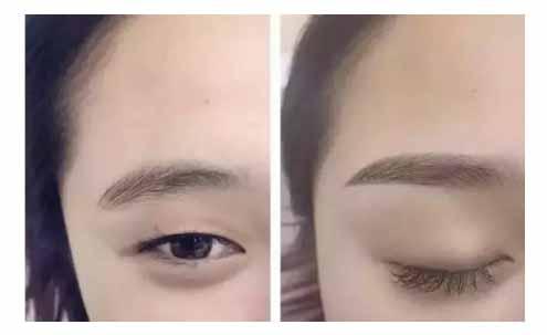 上海美莱半长久纹眉688起,突破自我眉型缺陷