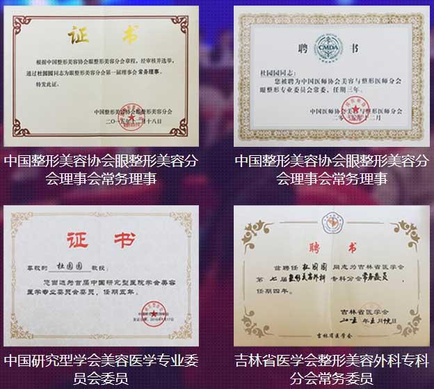 上海美莱杜园园资质荣誉
