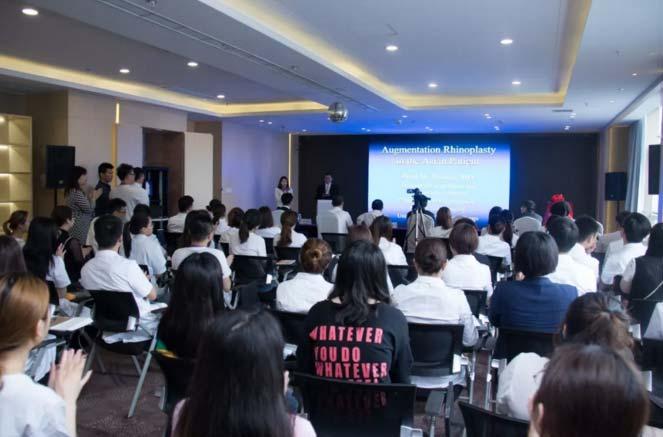 祝贺美莱鼻修复成立3周年,世界达拉斯专家团加盟上海美莱