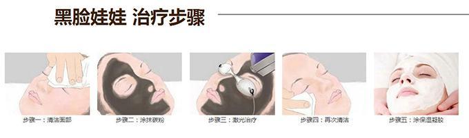 上海美莱黑脸娃娃治疗步骤