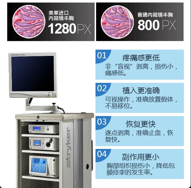 上海美莱医院假体丰胸方法有哪些