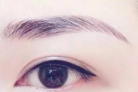 纹眉术后为什么要进行二次补色