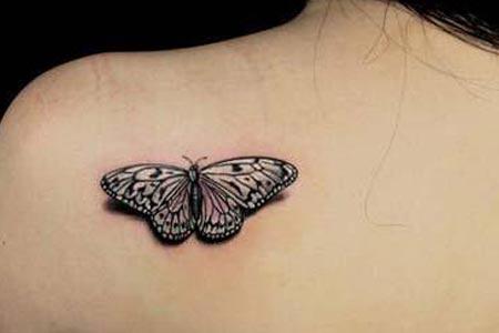 上海激光洗蝴蝶纹身要多少钱